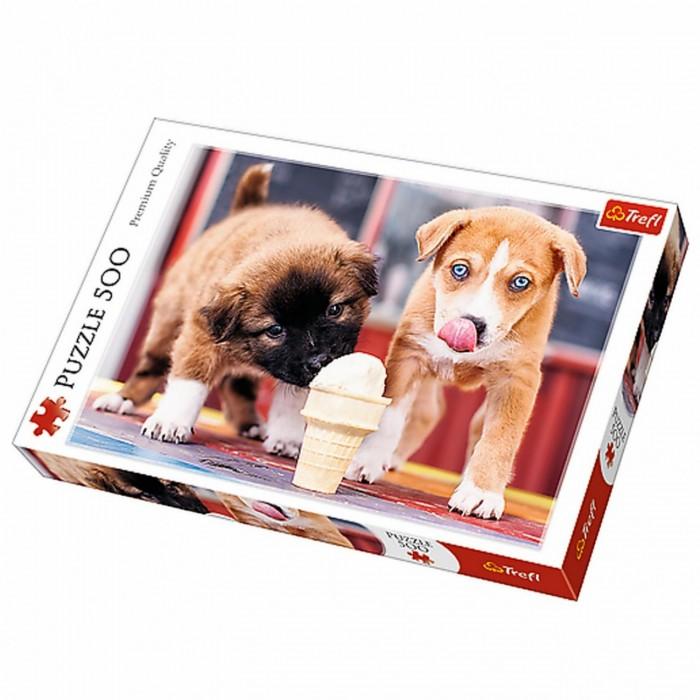Купить Trefl Пазлы Время для Мороженого (500 элементов)