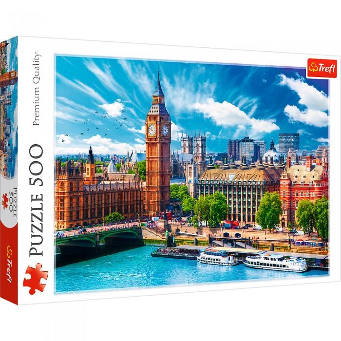 Купить Trefl Пазлы Солнечный Лондон (500 элементов)