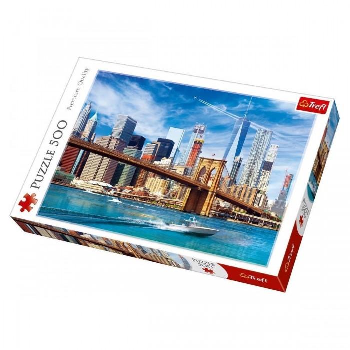 Купить Trefl Пазлы Вид на Нью-Йорк (500 элементов)