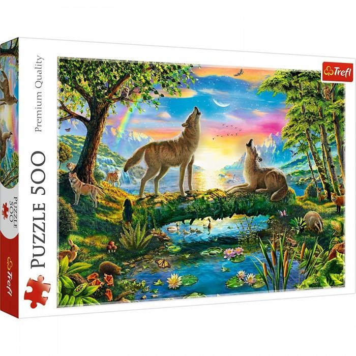 Купить Trefl Пазлы Волчья натура (500 элементов)