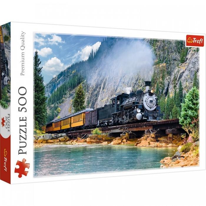 Купить Trefl Пазлы Поезд в горах (500 элементов)