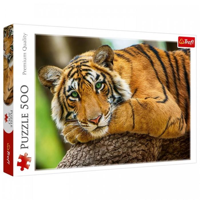 Купить Trefl Пазлы Портрет тигра (500 элементов)