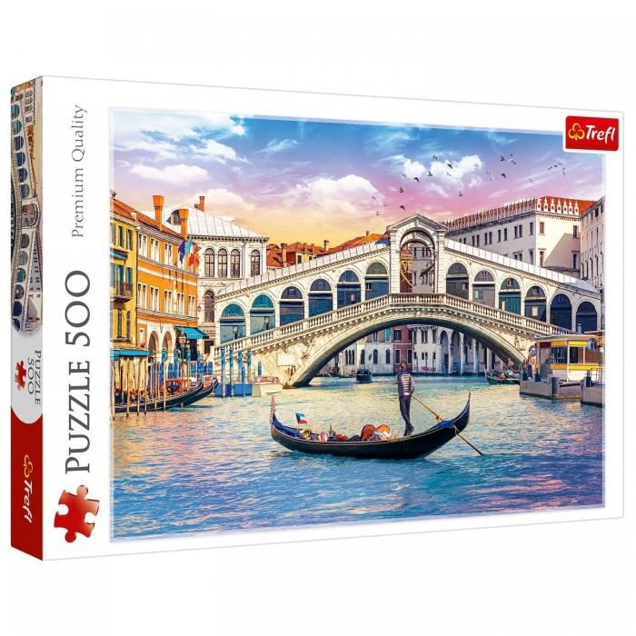 Купить Trefl Пазлы Мост Риальто Венеция (500 элементов)