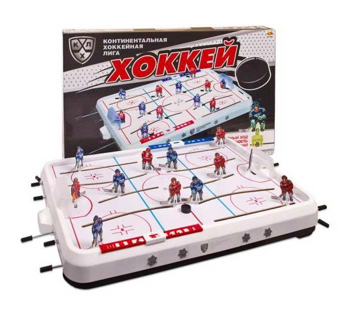 Настольные игры КХЛ Игра настольная Хоккей