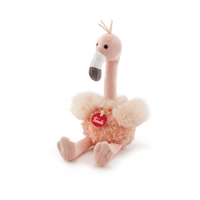 Мягкая игрушка Trudi Кудрявый Фламинго 25 см