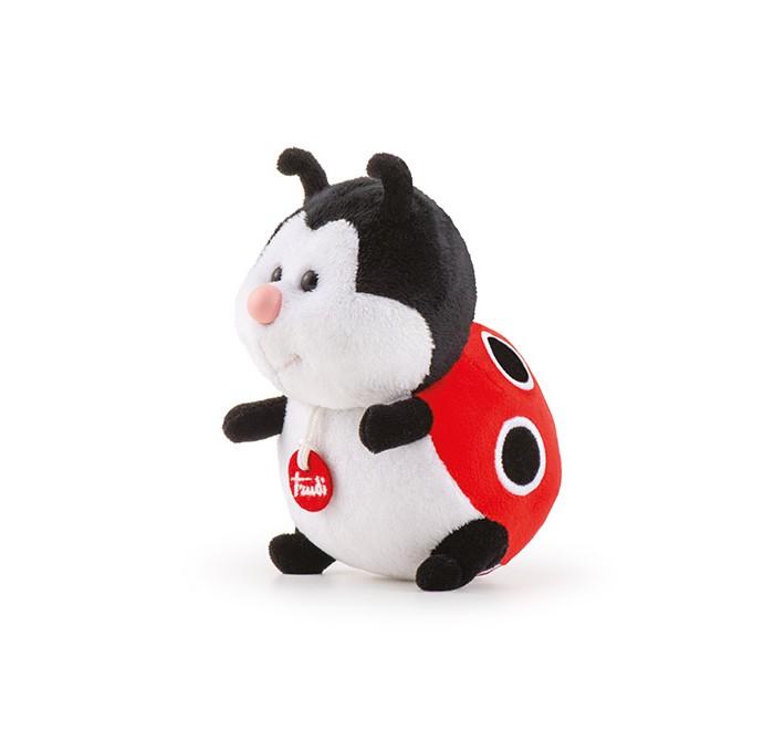 Купить Мягкие игрушки, Мягкая игрушка Trudi Божья Коровка делюкс 15 см