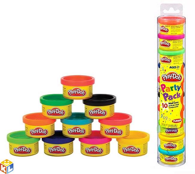 Всё для лепки Play-Doh Hasbro Набор для праздника в тубусе play doh b6756 пластилин 1 банка 112 гр в ассорт фиол розов оранж голуб желт