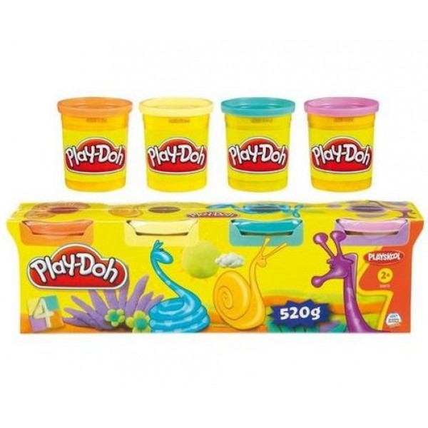 Play-Doh Hasbro Набор №3 4 баночки play doh hasbro набор 3 4 баночки
