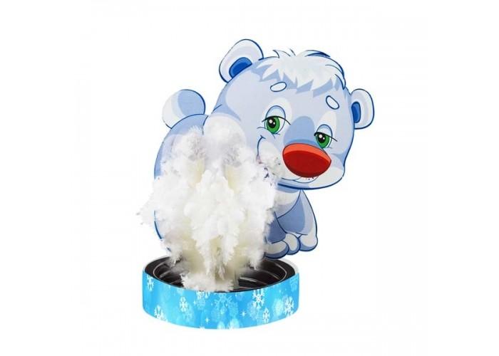 Наборы для выращивания Волшебные кристаллы набор Мишка белый цена