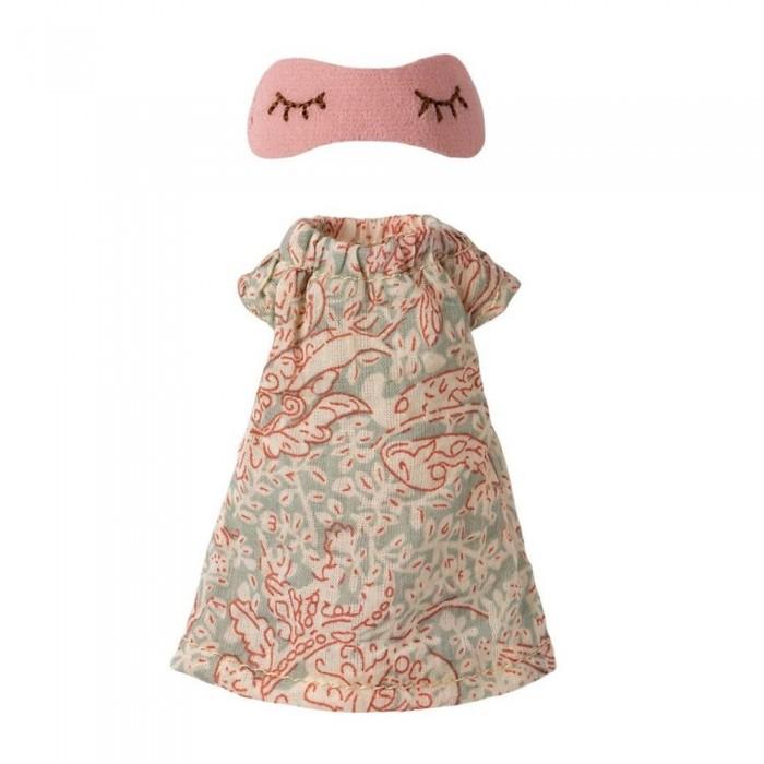 Куклы и одежда для кукол Maileg Ночная рубашка для мышки мамы