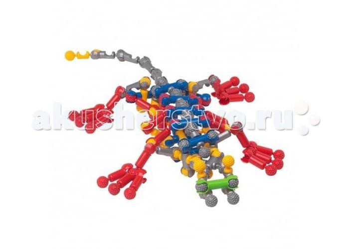 Конструктор Zoob 75 элементов75 элементовКонструктор Zoob 75 элементов 11075   Уникальный конструктор Zoob 75 элементов привлечет внимание каждого ребенка. С помощью такого конструктора можно создать множество вариантов моделей. Проявив фантазию и создав свою модель, ребенок может играть со своим готовым творением.  Конструктор включает 75 элементов для создания разных моделей, 5 основных элементов, которые соединяются между собой более 20 различными способами.<br>