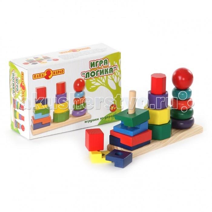 Деревянные игрушки Папа Карло Пирамидка 5431R/2700-32 (24)
