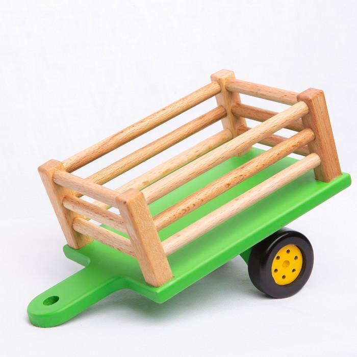 Деревянные игрушки BochArt Прицеп для Синего Трактора