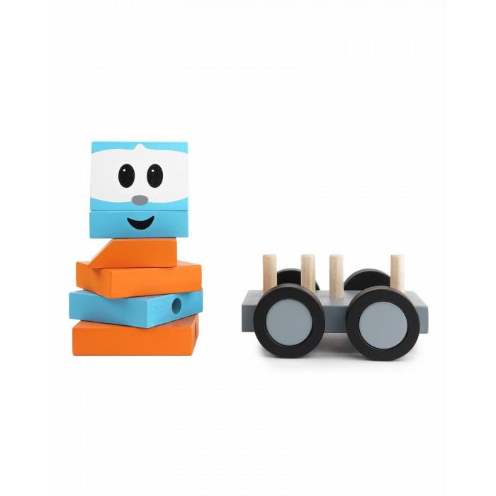 Деревянная игрушка BochArt Машина-конструктор Грузовичок Лёва