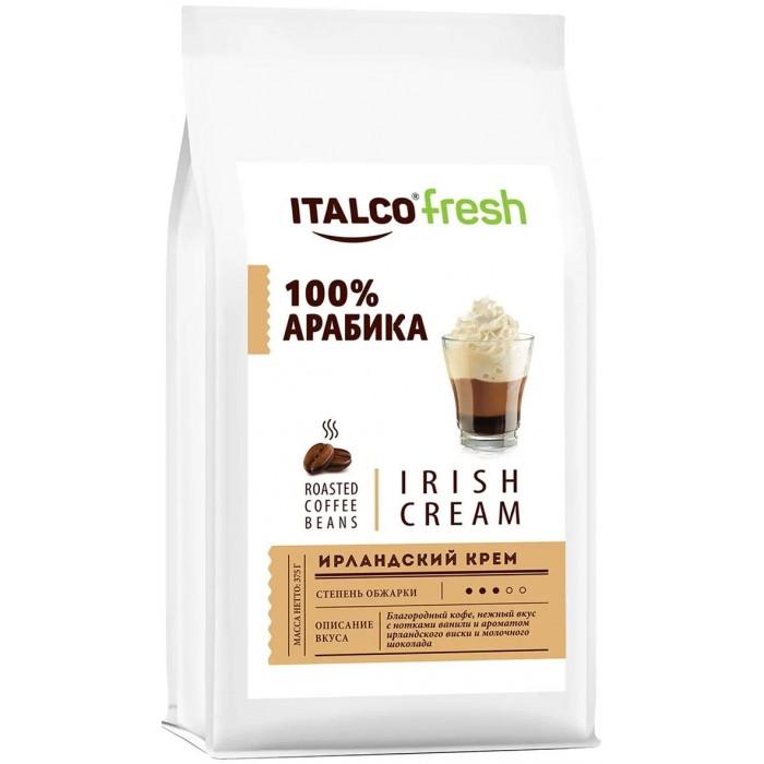 Фото - Кофе Italco Кофе в зернах Fresh Irish cream 375 г кофе в зернах italco fresh irish cream ирландский крем ароматизированный 375 г
