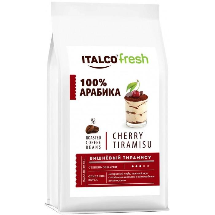 Фото - Кофе Italco Десертный кофе в зернах Fresh Cherry tiramisu 375 г кофе в зернах italco fresh irish cream ирландский крем ароматизированный 375 г