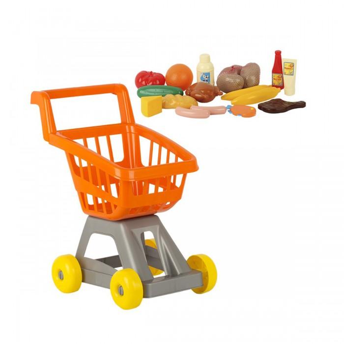 Ролевые игры Стром Тележка для супермаркета с продуктами
