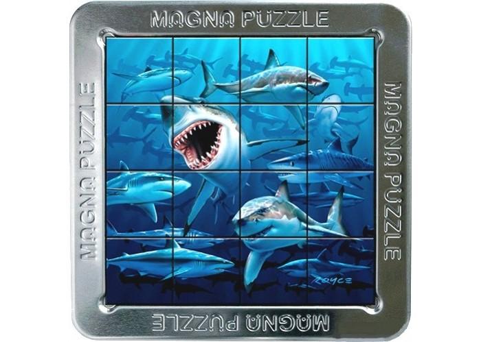 Пазлы Magna 3D пазл Акулы пазлы magic pazle объемный 3d пазл эйфелева башня 78x38x35 см