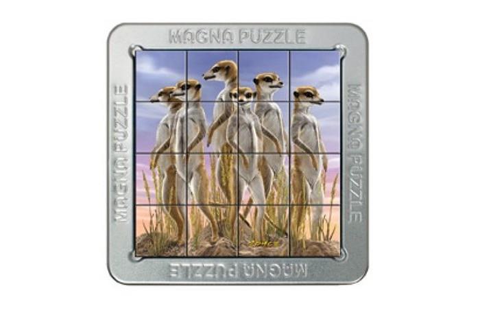 Пазлы Magna 3D пазл Сурикаты пазлы magic pazle объемный 3d пазл эйфелева башня 78x38x35 см