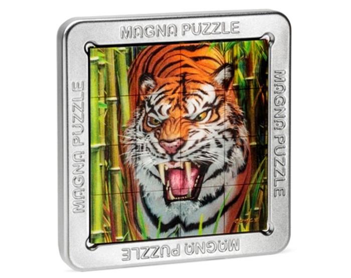 Пазлы Magna 3D пазл Тигр пазлы magic pazle объемный 3d пазл эйфелева башня 78x38x35 см