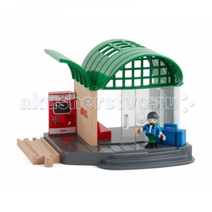 Железные дороги Brio Игровой набор Железнодорожная станция куплю квартиру сергиев пасад ул железнодорожная 37а