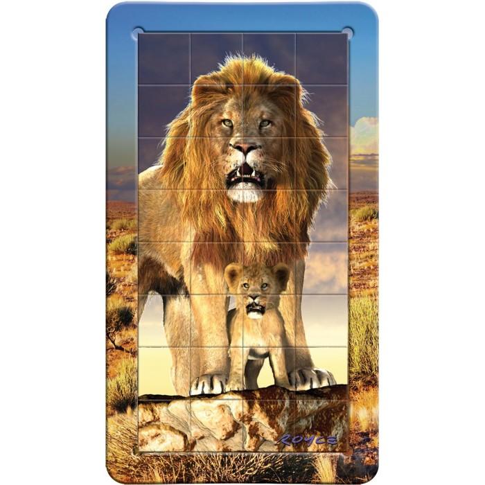 Пазлы Magna 3D пазл портрет Лев пазлы magic pazle объемный 3d пазл эйфелева башня 78x38x35 см