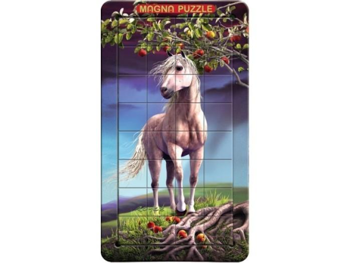 Пазлы Magna 3D пазл портрет Лошадь пазлы magic pazle объемный 3d пазл эйфелева башня 78x38x35 см