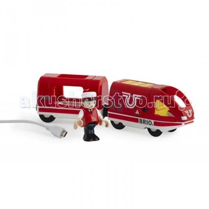 Brio Пассажирский поезд с USB подзарядкой