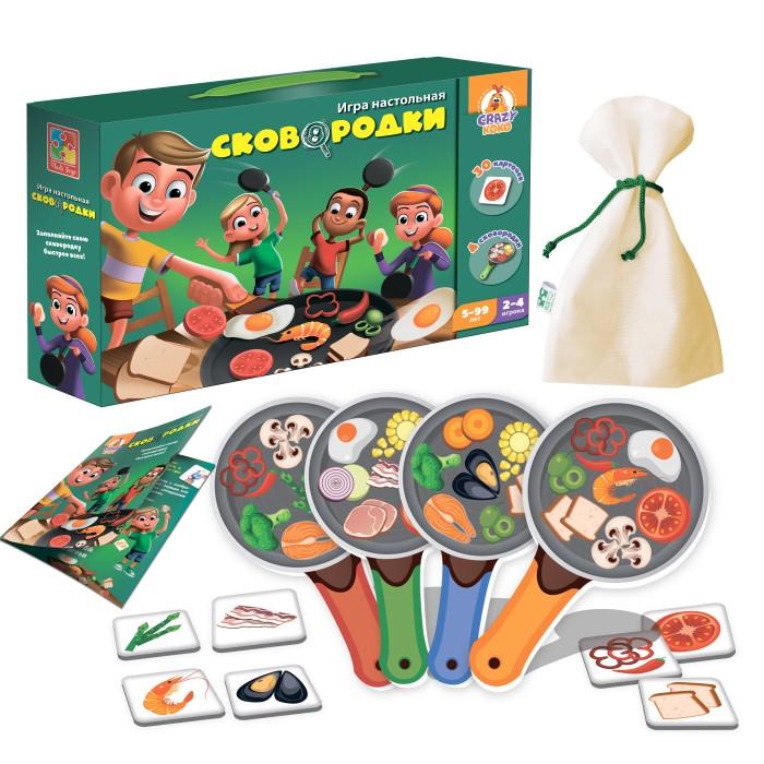 Настольные игры Vladi toys Игра настольная Сковородки