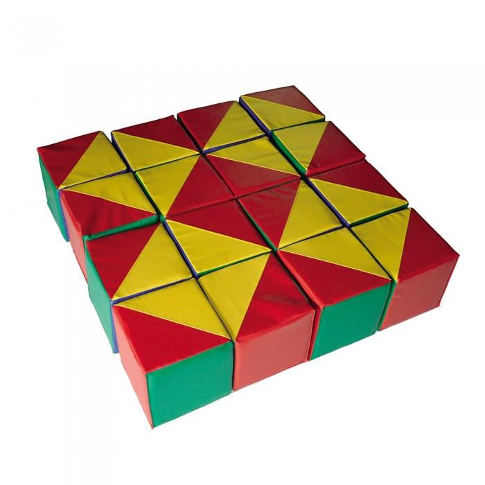 Спорт и отдых , Мягкие модули Romana Набор кубиков Калейдоскоп арт: 119005 -  Мягкие модули