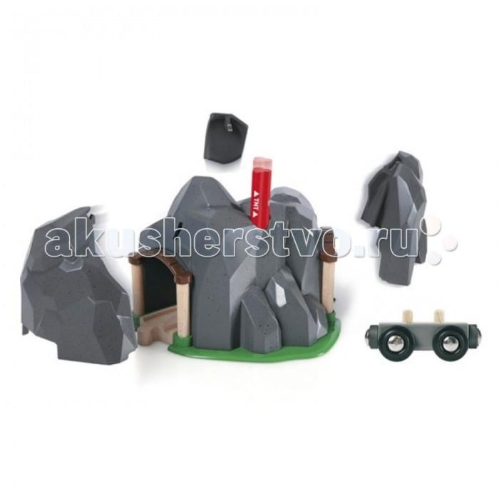 Brio Тоннель в горе со взрывчаткой, 6 элементов