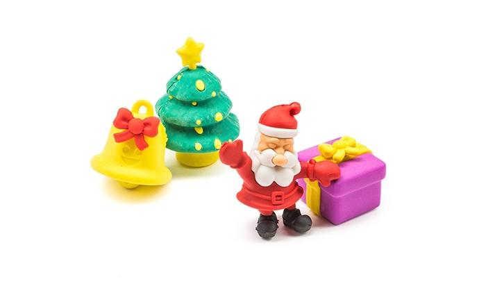 Пазлы Бумбарам Набор Ластики - пазлы на блистере Дед мороз ластики пазлы канцелярия в блистере 12 sunde 9001 6