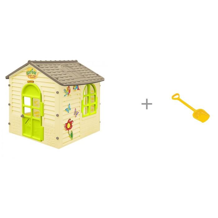 Купить Игровые домики, Mochtoys Игровой Домик детский и Полесье Лопата большая 50 см