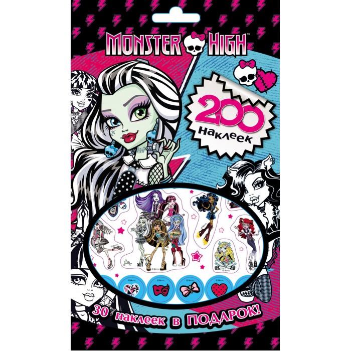 Детские наклейки Монстер Хай (Monster High) Альбом с наклейками куклы монстер хай купить эбби и хит видео