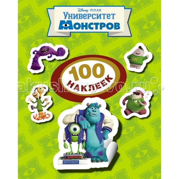 Детские наклейки Disney Альбом со 100 наклейками Университет монстров