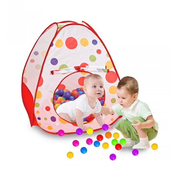 Фото - Палатки-домики Pituso Дом Конус + 100 шаров 90x90 см палатки домики calida дом палатка 100 шаров конус квадрат туннель