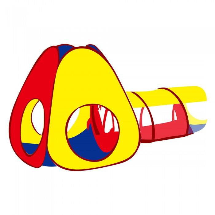 Фото - Палатки-домики Pituso Дом Конус и туннель + 100 шаров 190x90 см палатки домики calida дом палатка 100 шаров конус квадрат туннель