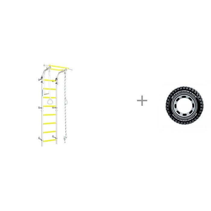 Картинка для Шведские стенки Romana Шведская стенка Next Top и Надувной круг Intex Шина 91 см