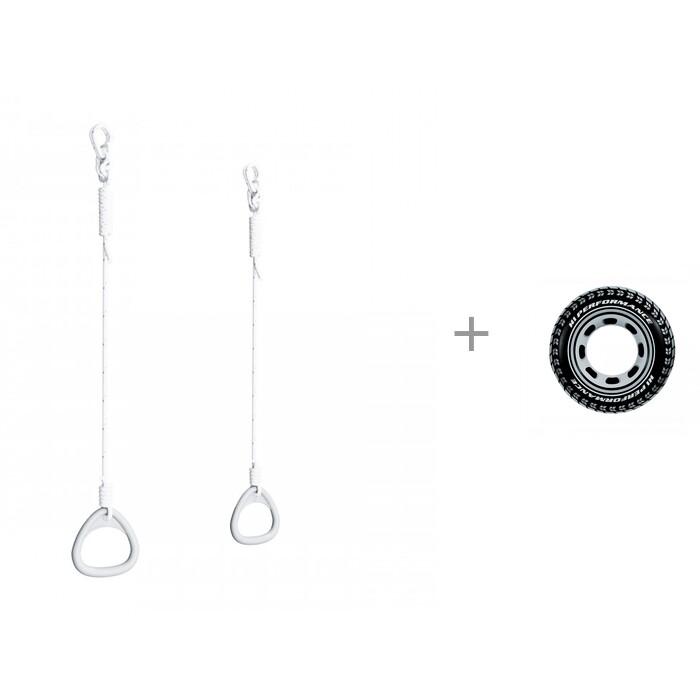 Купить Шведские стенки, Romana Кольца гимнастические Dop13 и Надувной круг Intex Шина 91 см