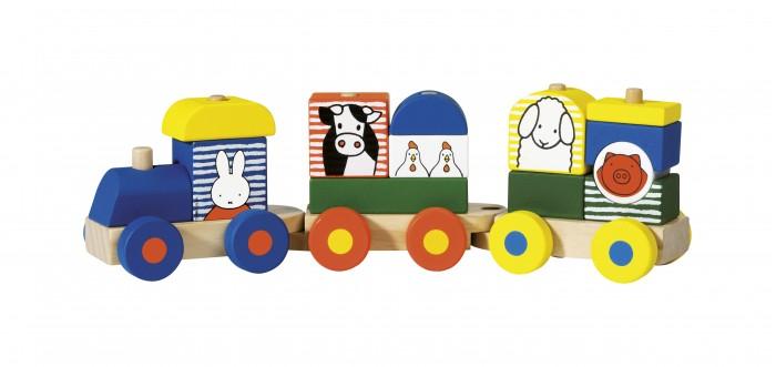 Деревянные игрушки Totum Поезд Miffy недорого