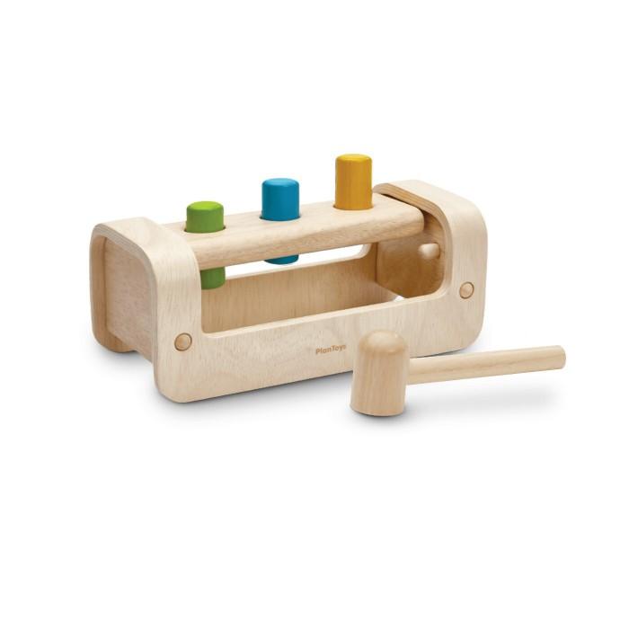 Фото - Деревянные игрушки Plan Toys Забивалка 5397 игра plan toys волчки 4132