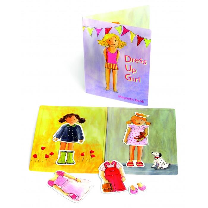 Купить Игры для малышей, Egmont Магнитная игра Девочка