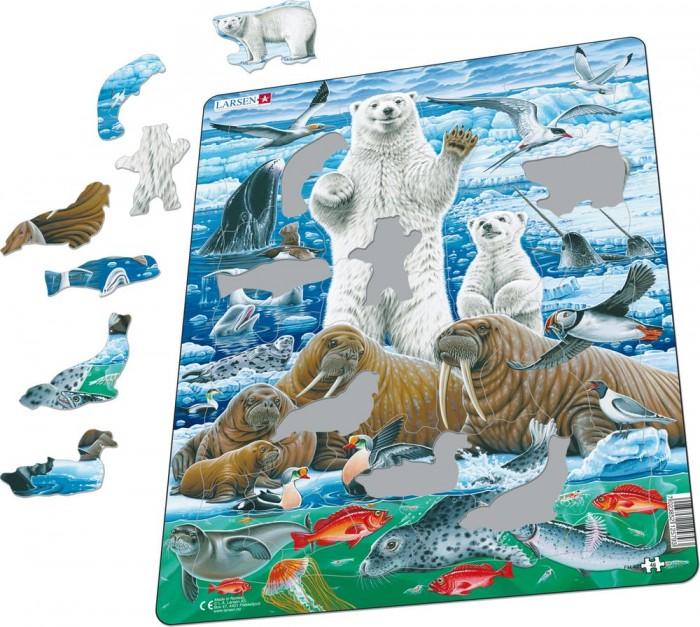 Картинка для Larsen Пазл Полярный медведь 46элемента