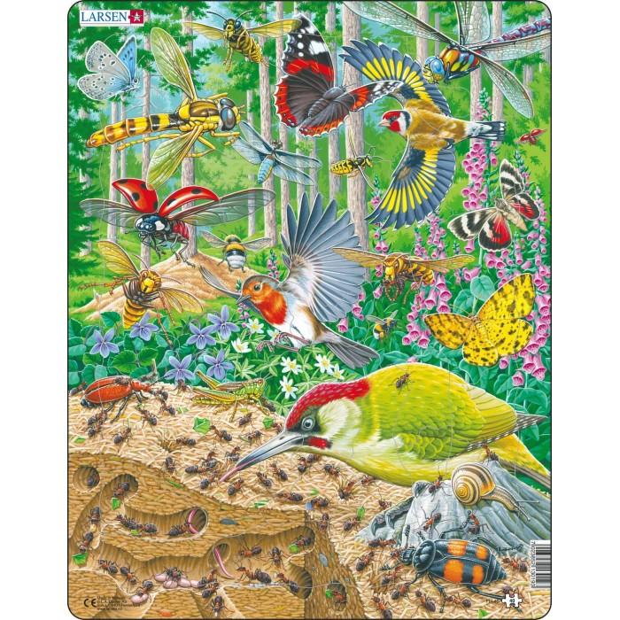 Картинка для Larsen Пазл Муравейник и жизнь вокруг 40 элементов