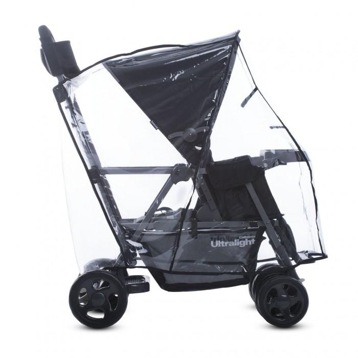 Дождевик Joovy для коляски Cabooseдля коляски CabooseУдобный дождевик станет приятным дополнением к вашей коляске надежно защитит малышей от дождя и непогоды.  Особенности:  необходимый аксессуар для колясок Joovy Caboose быстро устанавливается и легко снимается надежно защищает ребенка от пыли, дождя и снега обеспечивает хорошую видимость небольшое окошко при необходимости можно открыть<br>