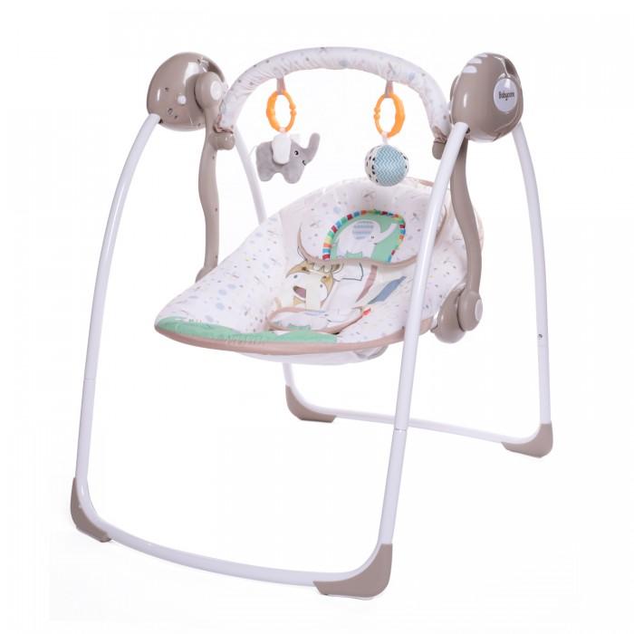 Электронные качели Baby Care Safari с адаптером Слон