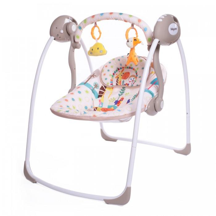 Электронные качели Baby Care Safari с адаптером Жираф