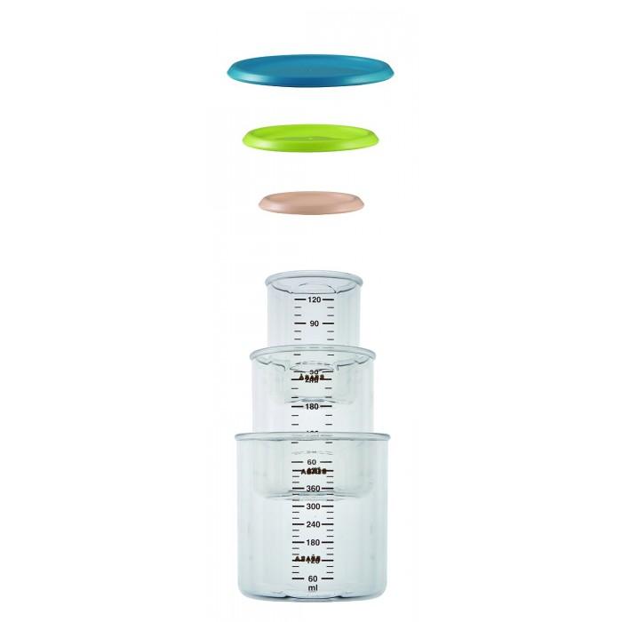 все цены на Контейнеры Beaba Комплект контейнеров для хранения 120, 240, 420 мл онлайн