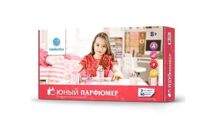 Наборы для творчества Intellectico Набор Юный парфюмер малый радуга ароматов кипарис масло эфирное 10 мл