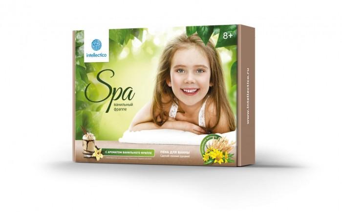 Наборы для творчества Intellectico Пена для ванны Ванильный фраппе игрушки для ванны tolo toys набор ведерок квадратные